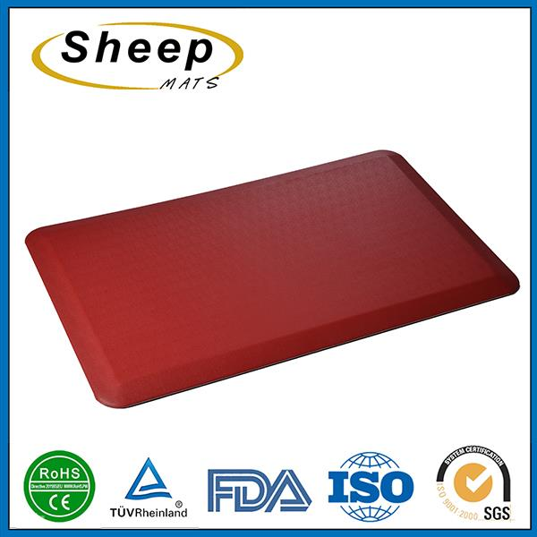 2016 High quality pvc foam washable anti-fatigue kitchen antibacterial floor mat