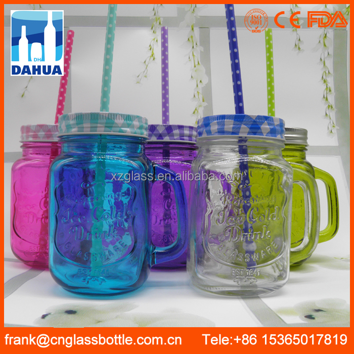 Wholesale Price Glass Mason Jar With Handle,High Quality Mason Glass Jar,150ml Glass Mason Jar Cup