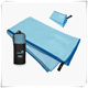 Bath Printed Custom Travel Microfiber Towel With Mesh Bag
