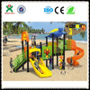 2015 Popular outdoor children sand play area equipment for kids slide(QX - 049A)