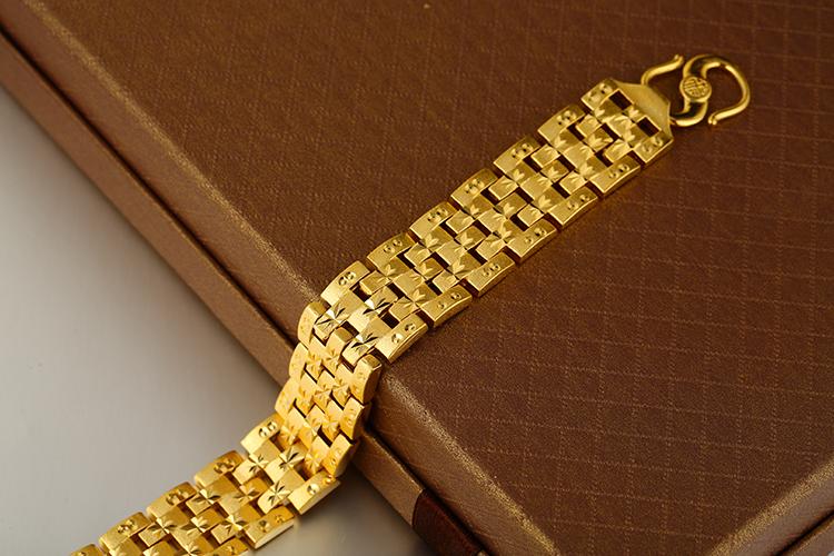 Xuping Imitation Jewelry 24k Dubai Gold Plated Luxury