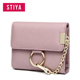 Fashion Lady Bling Woman Leather Wallet