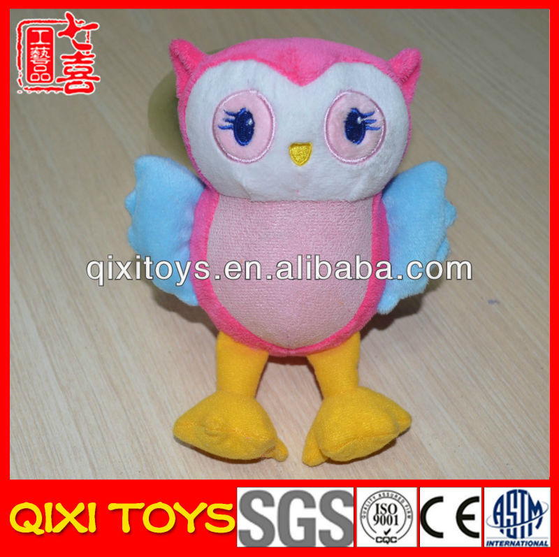 Wholesale stuffed owl screen cleaner toy screen cleaner plush toy