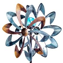 Solar Powered LED <span class=keywords><strong>Logam</strong></span> Windmill Garden <span class=keywords><strong>Angin</strong></span> <span class=keywords><strong>Spinner</strong></span>
