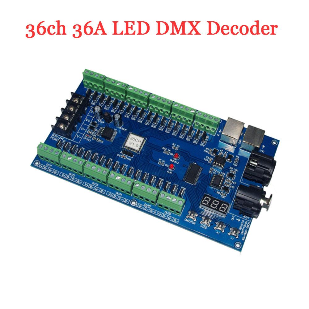 36ch Pcb Led Dmx Decoder