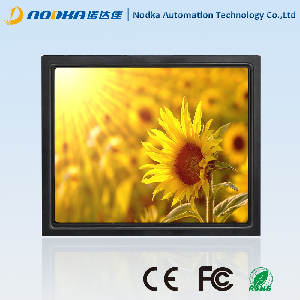 17 inch open frame LCD monitor, Infrared touch screen monitor