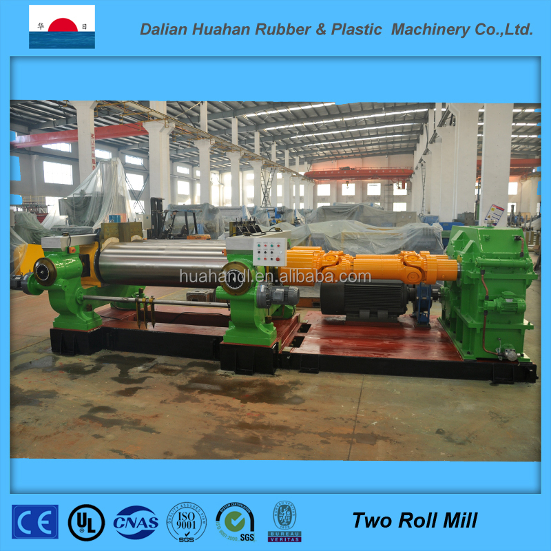 Alibaba Supply Two Roll Mill Made by Dalian Huahan Rubber Machinery
