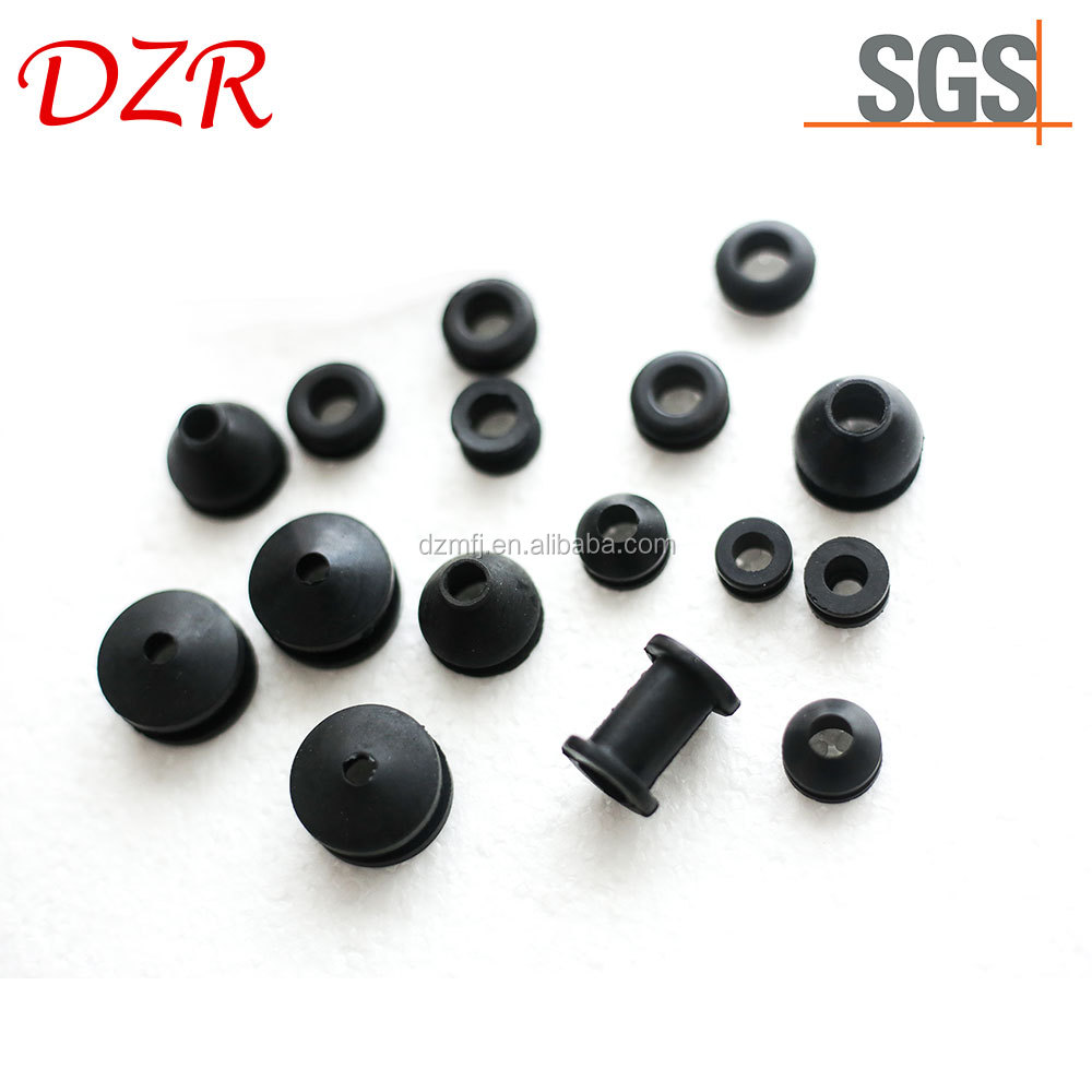Best design oblong nylon rubber grommet for cardboard