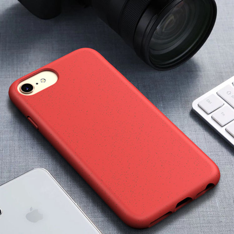 Top Seller biodegradável compostável eco friendly TPU case capa do telefone para o iphone caso 8 7