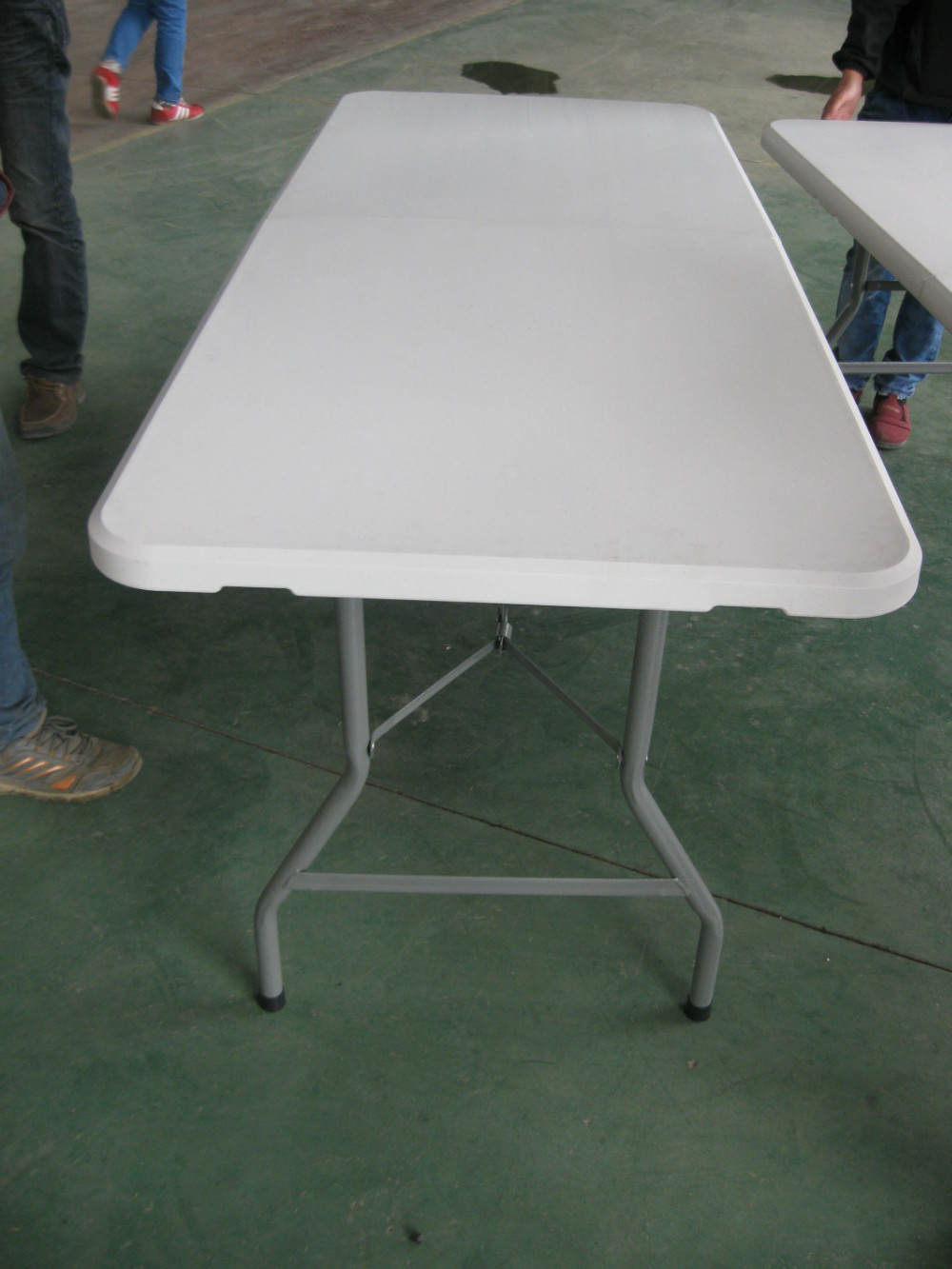 Outdoor Plastic Foldable Table hdpe Empty Table Panel With