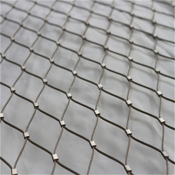 Corrosion Resistant And Durable Inox Wire Rope Mesh Net - Buy Wire ...