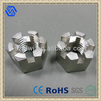 din935 hex slotted nut,hex slotted and castle nut