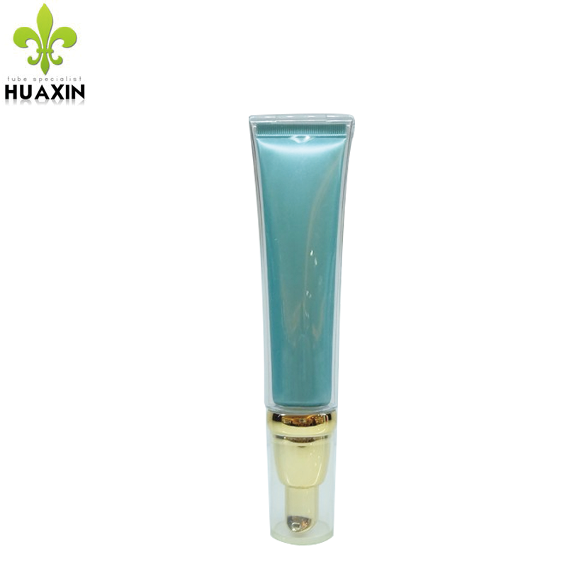 special glass bottle with lotion pump hollow solid acrylic tube