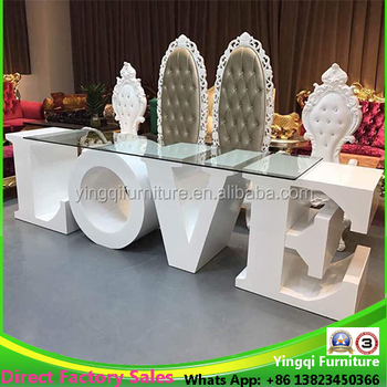 Love letter table for wedding stage decoration buy love letter love letter table for wedding stage decoration junglespirit Images
