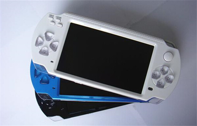 Cheap portable game console 4.3 inch 8GB support TF card Video Music game machines sale mp6 game player