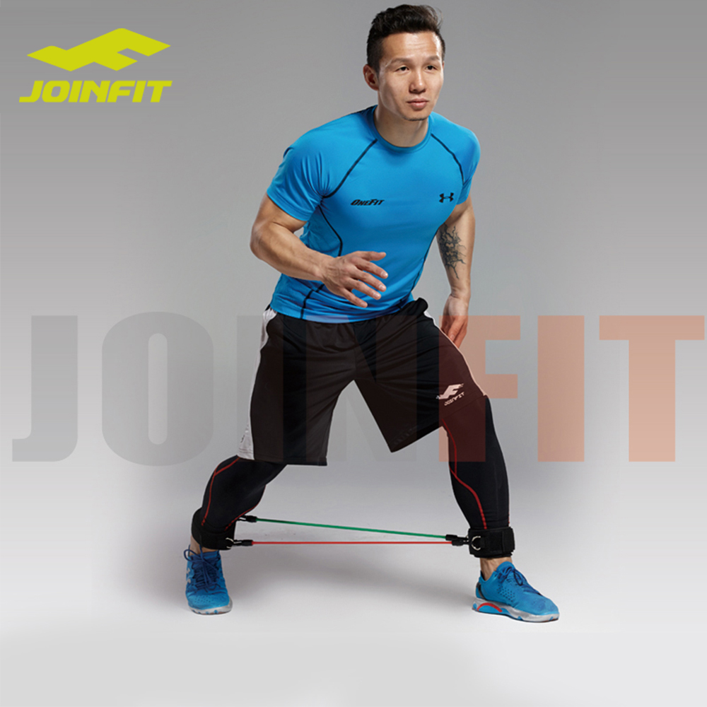 Speed and Strength Leg Resistance Bands / Resistance Training Leg Bands Elastic/Fitness Resistance Bands