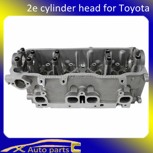 For toyota parts Fortoyota auto parts, Fortoyota 2e engine cylinder head of Corolla/Starlet 1.3L 11101-19156