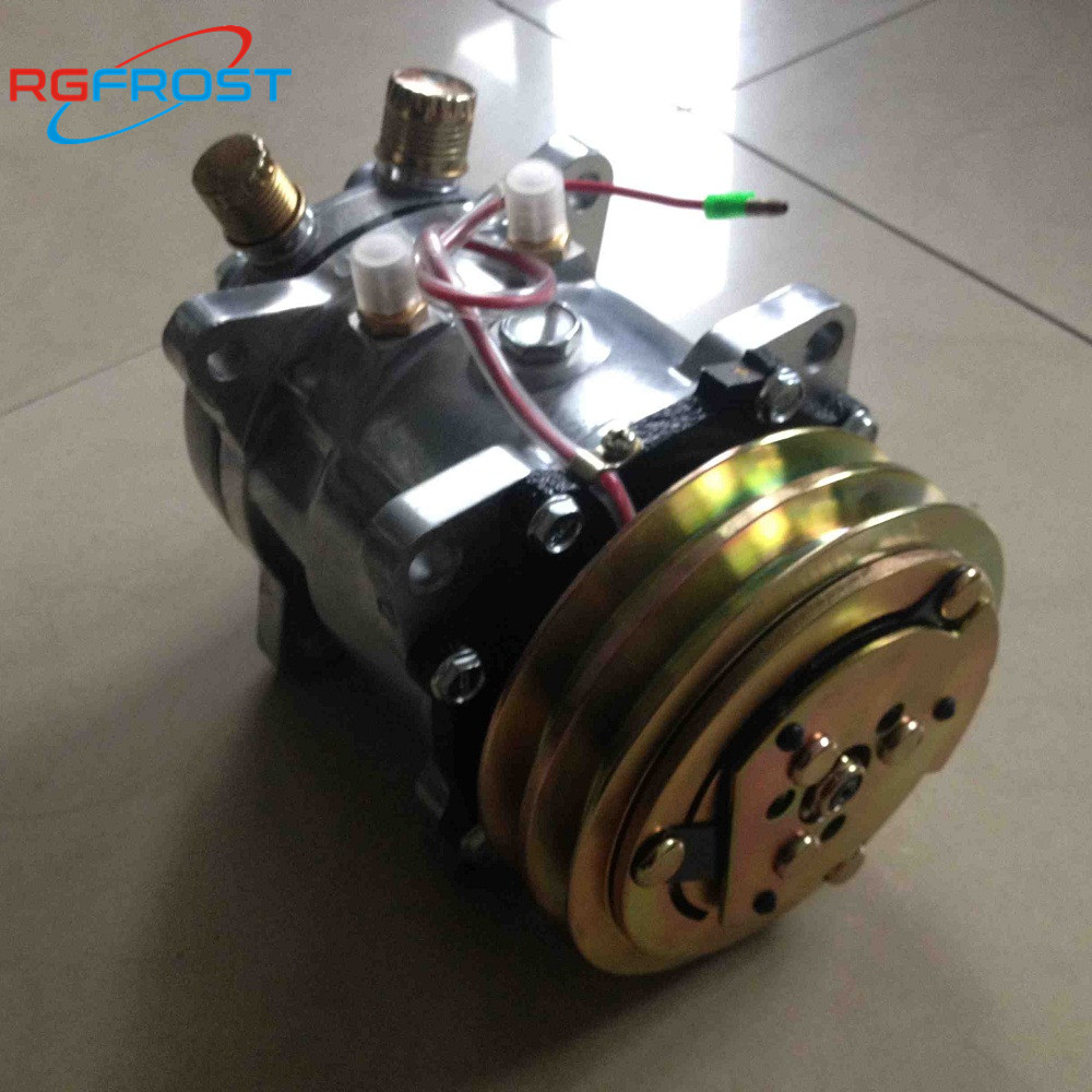 A//C Compressor w//Clutch for Sanden 5072 SD5H09 NEW SD505