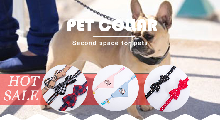 Cute Style Polyester Strong And Durable Cat Collar
