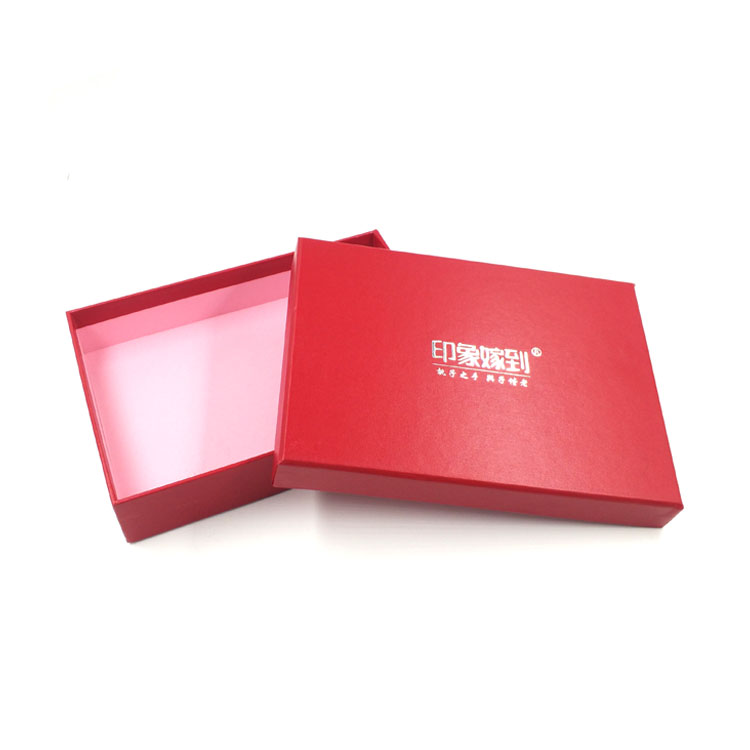 High quality professional custom designed luxury lamination cardboard gift box packaging