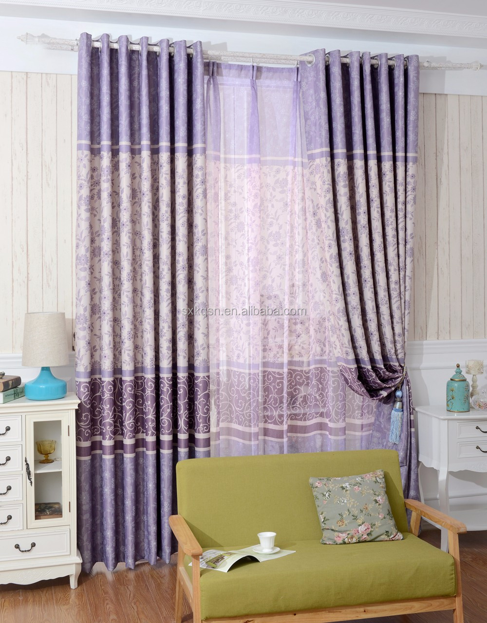 Chinese Room Divider Expensive Blackout Curtain