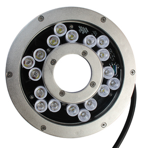 High quality led fountain underwater ring lights