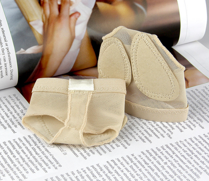 BT00012 New Protect Foot Thong Toe Half Lyrical Shoe Undies Dance Forefoot Cover Care