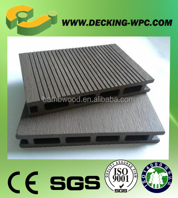 Advanced Decking France With Wood Plastic Material