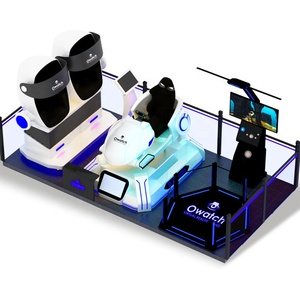 Professional VR Solution 9D VR Experience Hall for Hi-Tech Museum