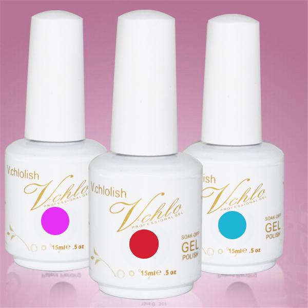 Vchlo 2015 The Most Popular Nails Uv Gel High Quality Nail Art Designs
