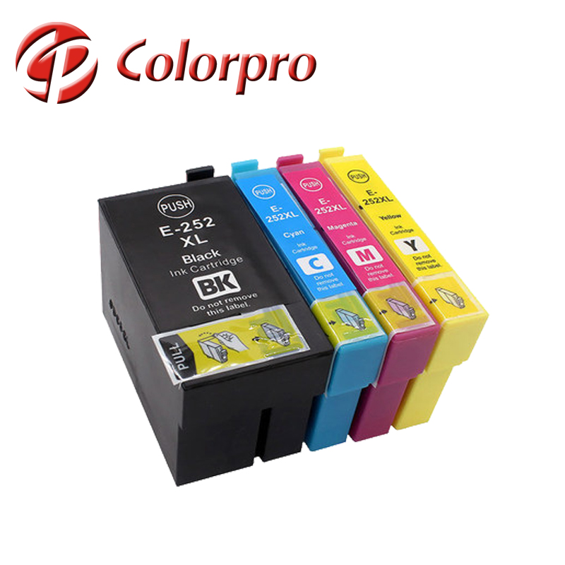 Compatible ink cartridge T252XL for Epson Workforce Wf-7610, Wf-7620 for Epson T2521XL