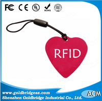 China Manufacturer plastic with barcode identification tk4100 ata5577 rxk03 t5557 rxk04 13.56 mhz key fob