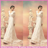 WD5593 Good quality factory direct lace long sleeve wedding gown beautiful bridal dress