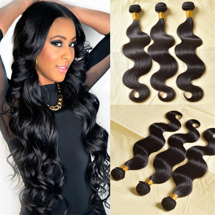 Good Weave Brazilian Hair 4 Bundles Body Human Brands