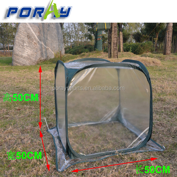 Pop Up Transpa Pvc Cover Garden Bug Insect Netting For Plants And Flowers
