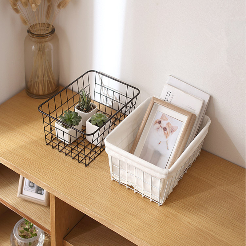<strong>bathroom</strong> wire steel organizer kitchen cabinet <strong>storage</strong> <strong>basket</strong> without fabric cover