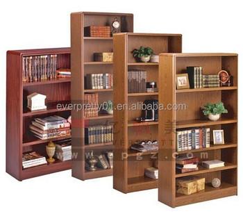 Fabriek Op Maat Gemaakte Bibliotheek Meubelen Houten Boekenkast Voor ...