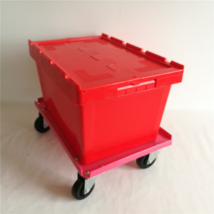 50kgs 60 Liter Stackable Apparel Packing Plastic Crate