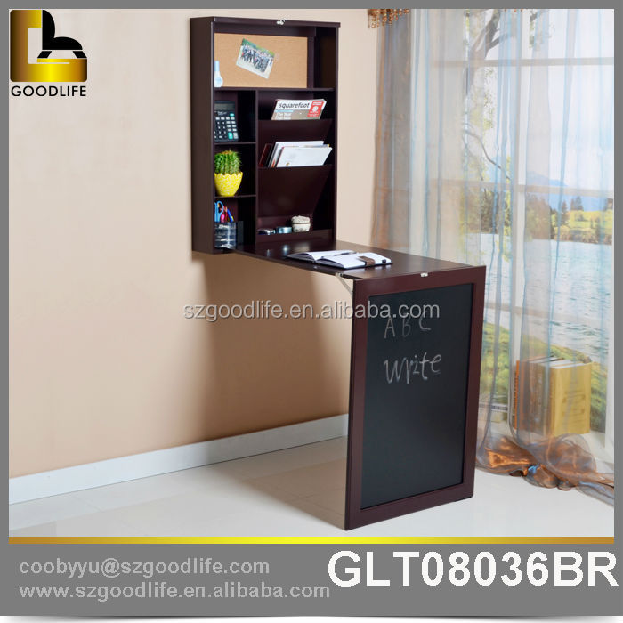 Hot Sale Design Wall Mounted Down Study Table Children Table