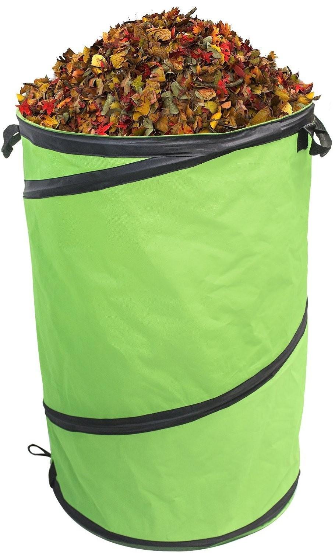 30 gallon kangaroo collapsible gardening bag trash bin bag - Collapsible trash bins ...