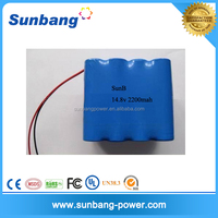 Industrial batteries se us18650v tc4 14.8V aa 2100mah rechargeable battery pack