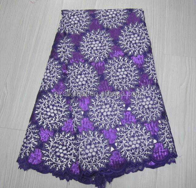 Latest High Quality African Organza Laces Fabric