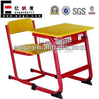 Attached Kids School Desk Chair,Combo School Desk And Chair