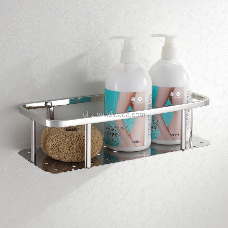 6607 Shower Basket Caddy Shelf And Metal Storage Rack For Small ...