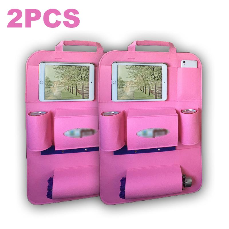 Сумка-Органайзер для автомобиля, универсальные сумки для хранения заднего сиденья, складные Чехлы для стула, багажника, карманная защита дл...(Китай)