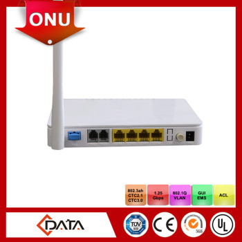 Voice and Data ftth onu epon fiber optic terminal equipment