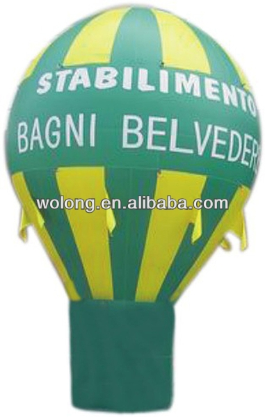 Promotion Gift Logo Print Inflatable Advertising Balloon with CE
