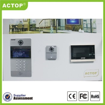 New Tcp/ip Video Door Phone Ip Based Video Intercom Apartment ...