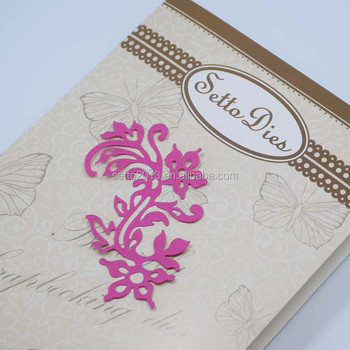 Whole Metal Paper Flowers Templates For Diy Sbooking Photo Al Decorative Embossing Cards