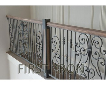 Elegant And Modern Interior Wrought Iron Railings For Stairs - Buy Images  Of Interior Ornamental Iron Stairs Railing,Interior Stair Railing Los
